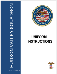 Uniform Instructions Front
